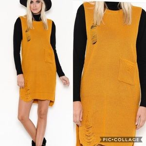 Sweaters - ❤️Available❤️ adorable mustard tunic